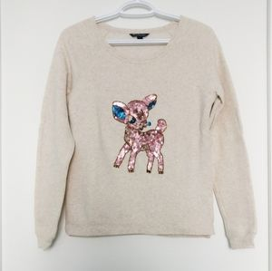 NWOT American Eagle Outfitters Reindeer Sweater